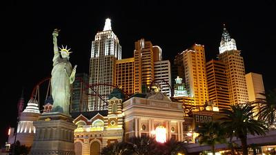 New York, New York Hotel and Casino at Night