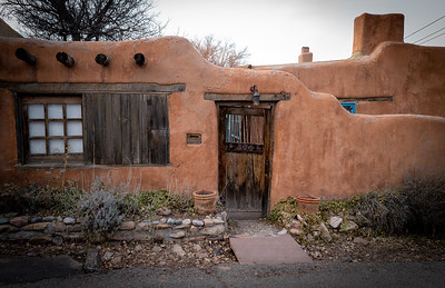 Canyon Road, Santa Fe, New Mexico