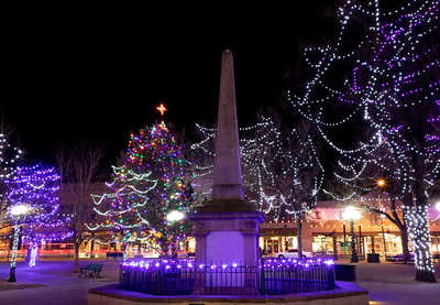 Santa Fe Plaza, New Mexico