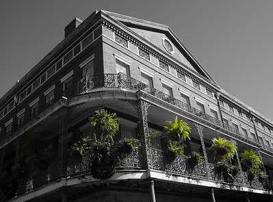 Balcony inthe French Quarter