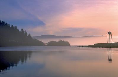Tranquil Oregon Lake