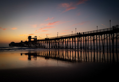 Oceanside Pier at Dusk