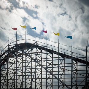 Rollercoaster, Mission Beach, San Diego