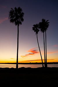 Sunset at Mission Bay, San Diego