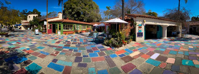 Spanish Village, Balboa Park, San Diego