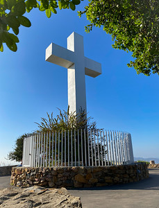 Cross on Mt. Helix, San Diego