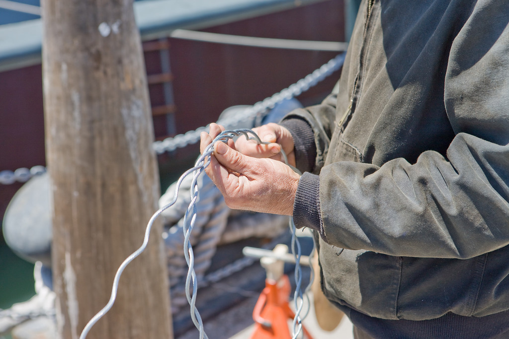 splicing ropes - the student