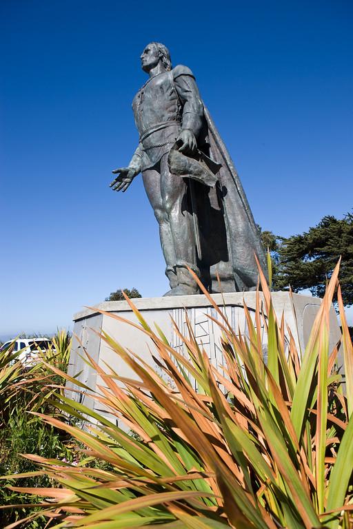 Christopher Columbus monument on Telegraph Hill