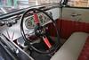 Restored Ford truck cockpit