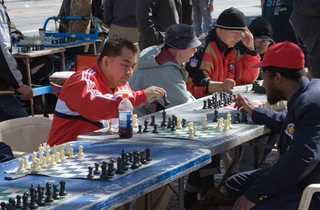 Check! Chess on Market St.