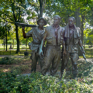 Vietnam Memorial - The Three Soldiers