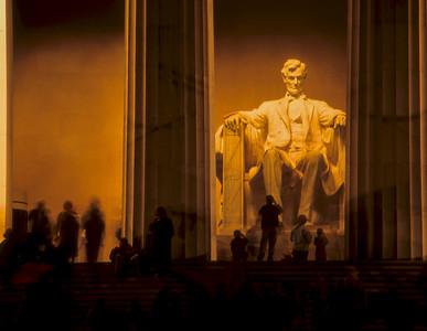 Lincoln Memorial Timelapse