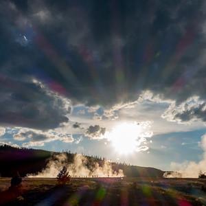 Sunrise Geyser