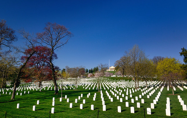 Please remember those who served their country on this Memorial Day Weekend - Arlington National Cemetery
