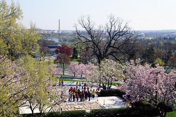 President Kennedy's grave - Arlington National Cemetery