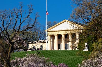 Arlington House - The former home of Robert E. Lee - Arlington National Cemetery