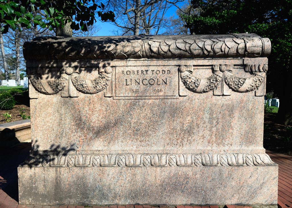 Robert Todd Lincoln - Son of Abraham Lincoln - Arlington National Cemetery