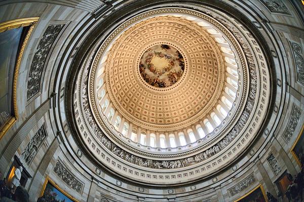 The United States Capitol Rotunda