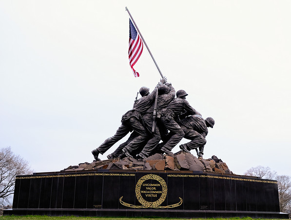 United States Marines Iwo Jima War Memorial