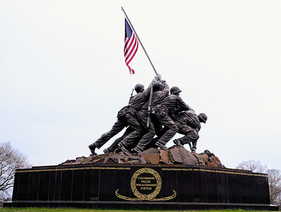 United States Marines Iwo Jima War Memorial