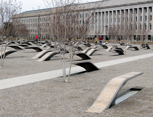 Pentagon Memorial 9/11/2001 9:37 am