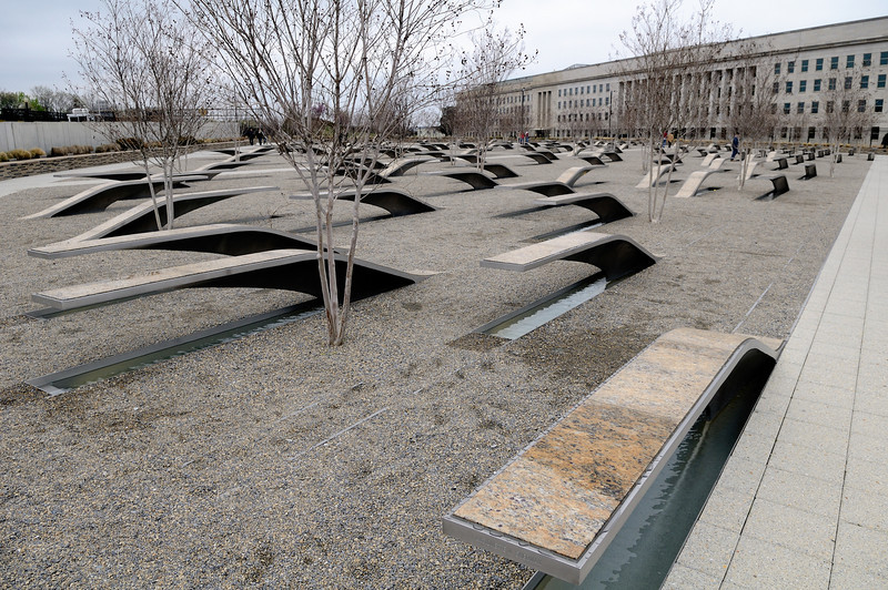 Pentagon Memorial 9/11/2001 9:37am
