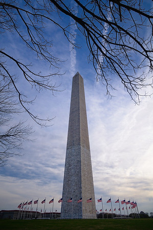 Early Morning at the Washington Monument