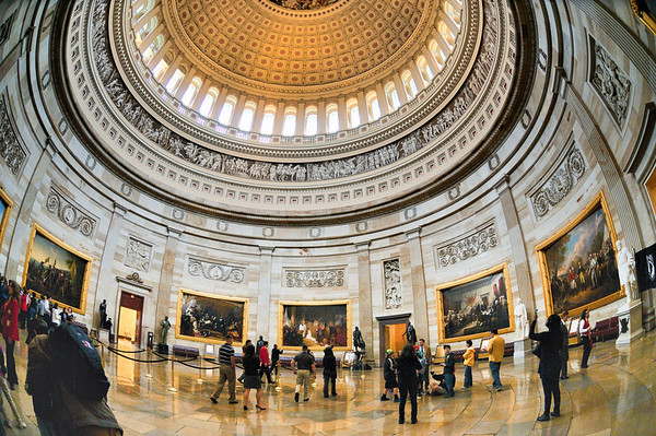 The United States Capitol Rotunda
