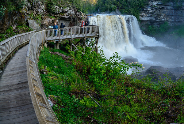 Early Morning at Blackwater Falls