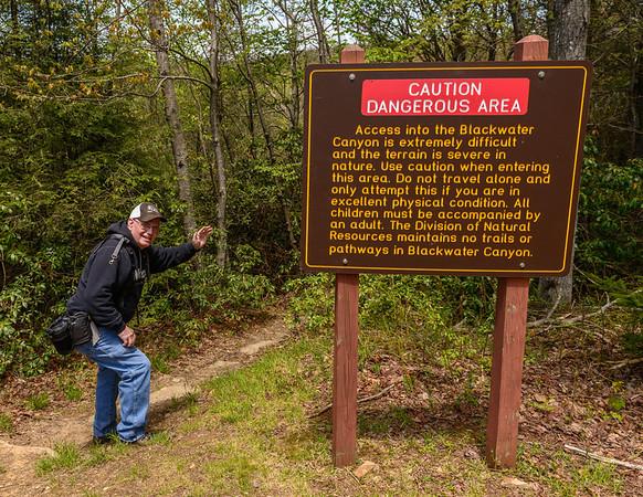 Me on the Pendleton Trail