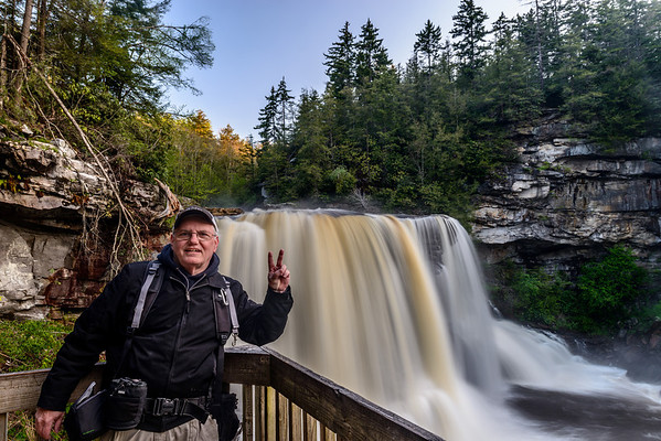 Me at Blackwater Falls