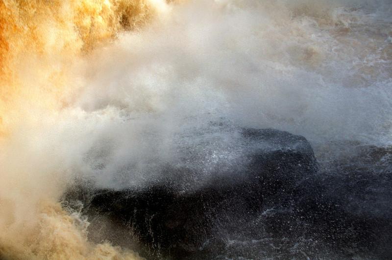 Rocks at the base of Blackwater Falls