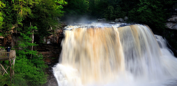 Photographer at Blackwater Falls