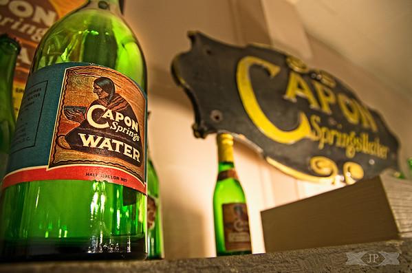 Old School Bottled Water