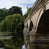 Serpentine Bridge in Hyde Park, London, England