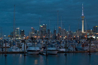 Auckland | New Zealand Cityscape at dusk