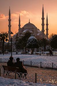 Sultanahmet sunset