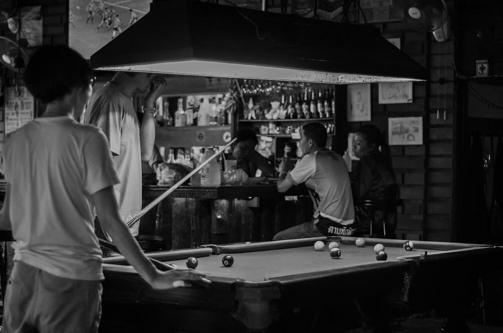 Pool Hall: Chiang Mai, Thailand