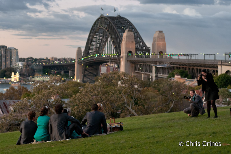 Sydney | Australia Taking group portraits on the observation hill
