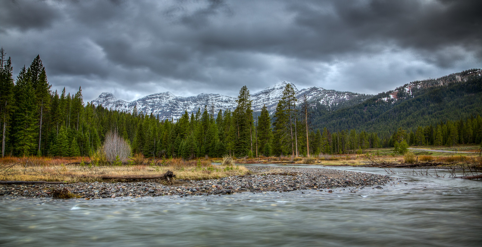 Pebble Creek - Yellowstone National Park