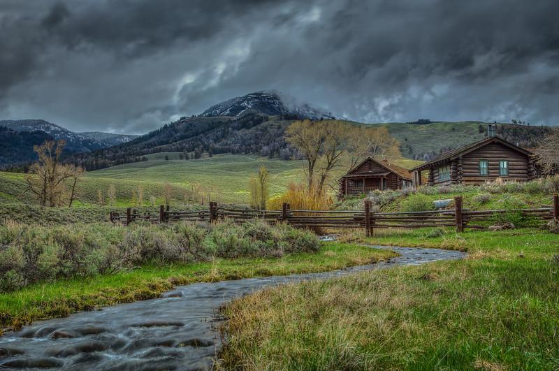 Lamar Buffalo Ranch - Yellowstone National Park