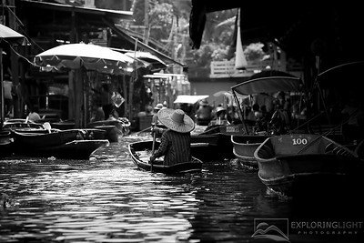 """DAMNOEN SADUAK IV""ThailandFloating Markets (Damnoen Saduak), outside Bangkok, Thailand.© Chris Moore - Exploring Light PhotographyPURCHASE A PRINT"