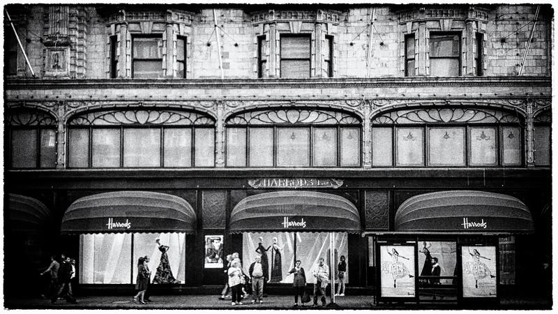 Harrods department Store!