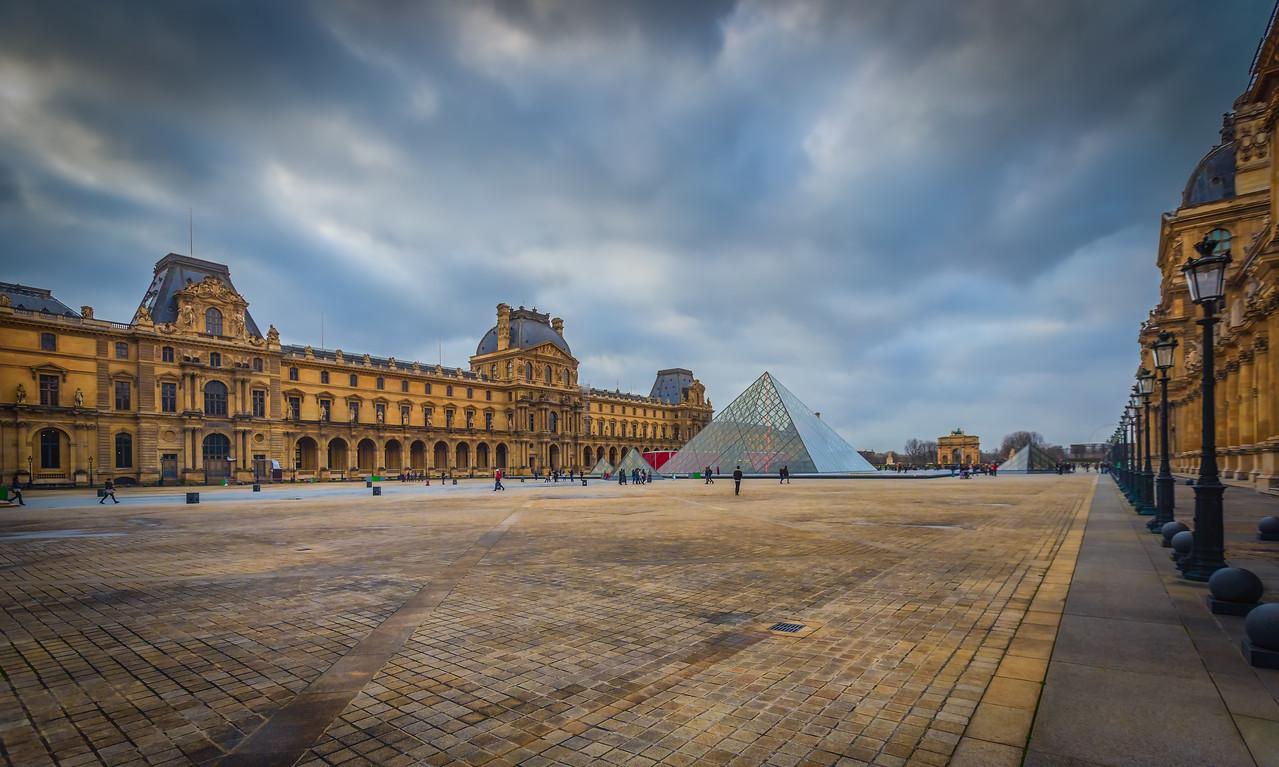 Louve Museum in Paris