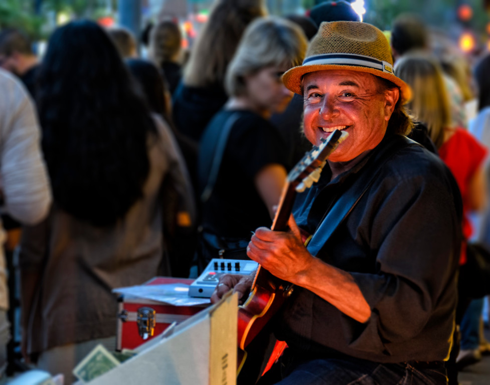 Gregg Young, Blues Musician