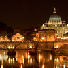 Vatican city, Rome, Italy by night