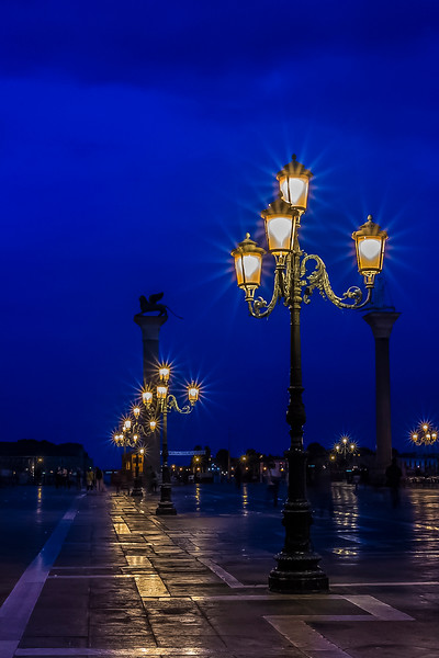San Marco Square Lights