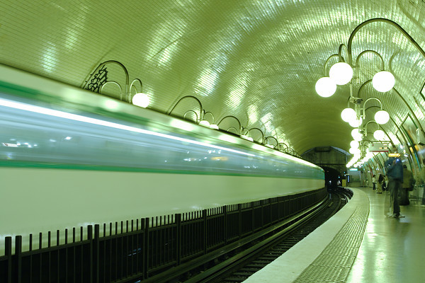 Paris subway station, France