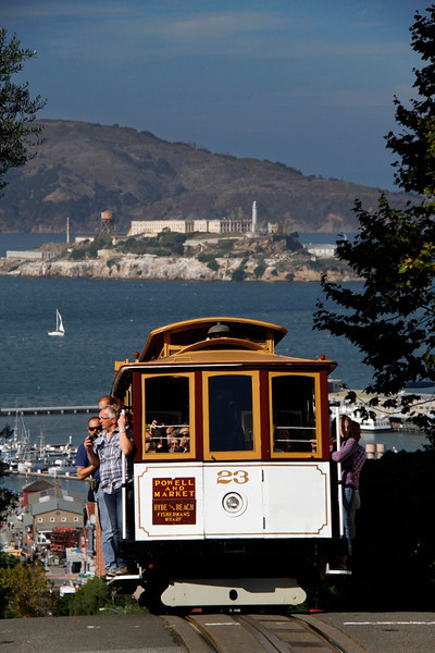 Cable Car & Alcatraz - San Francisco, CA