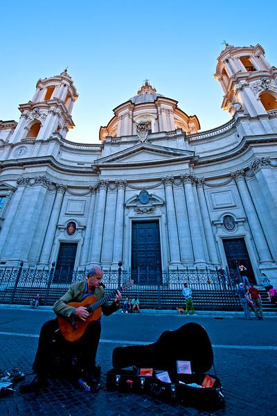 Piazza Navano. Rome, Italy